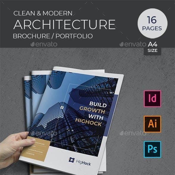 Architecture Brochure - Portfolio