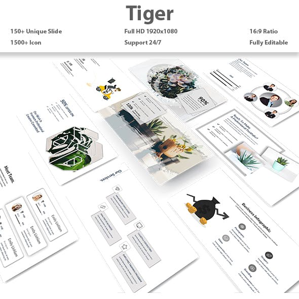 Tiger - Multipurpose PowerPoint Template