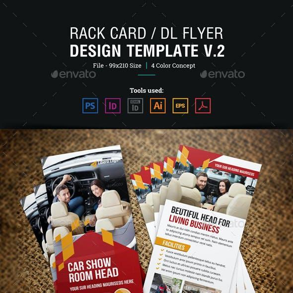 Rack Card DL Flyer Design v2