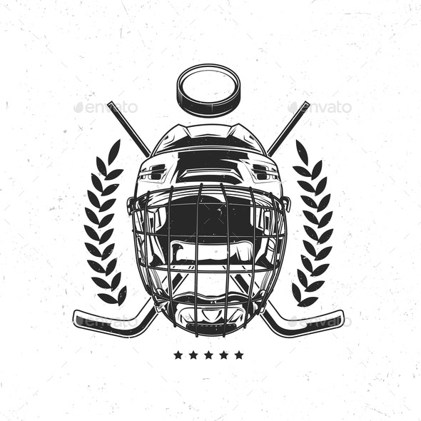 Isolated Emblem - Sports/Activity Conceptual