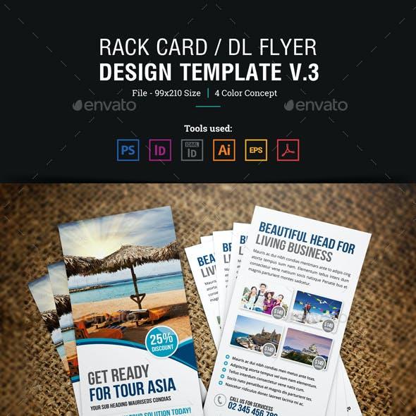 Rack Card DL Flyer Design v3