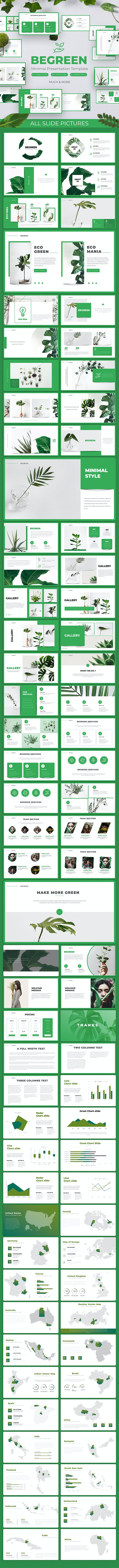 BeGreen - Eco Powerpoint Templates - Nature PowerPoint Templates