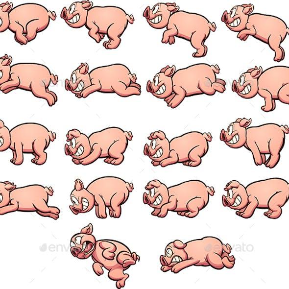 Cartoon Pig