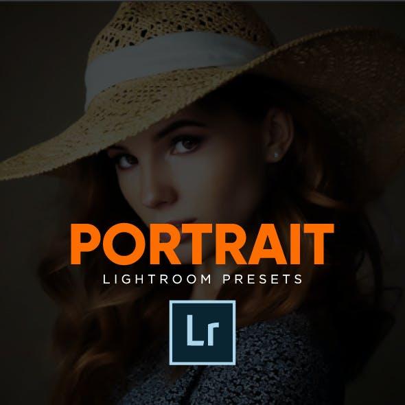 Cinematic Moody Portrait Lightroom Presets