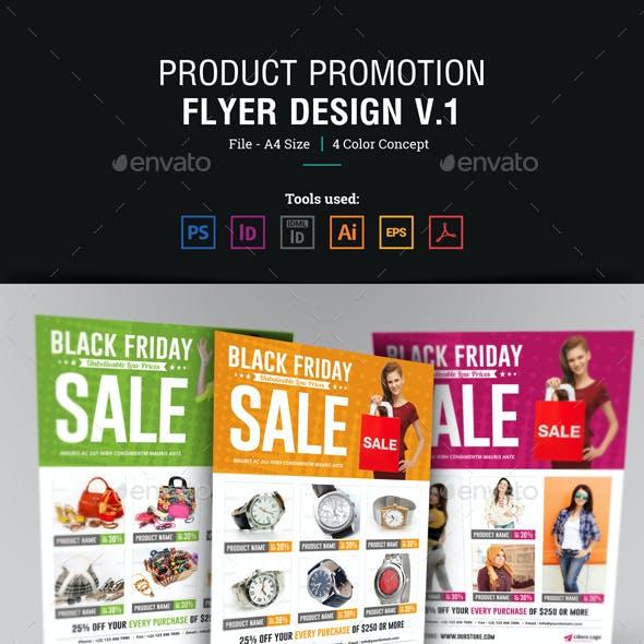 Product Promotion Flyer Design v1