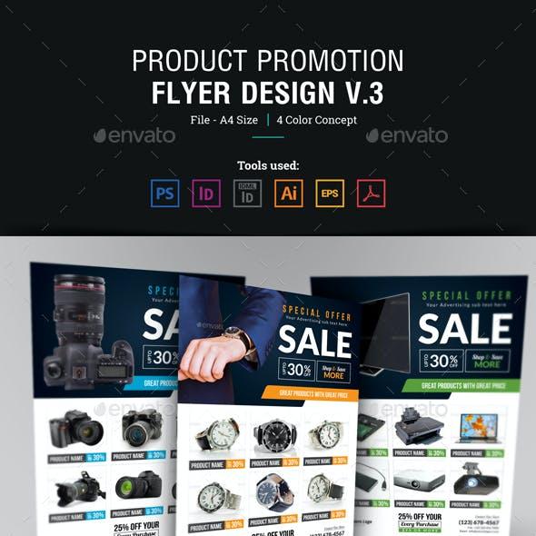 Product Promotion Flyer Design v3