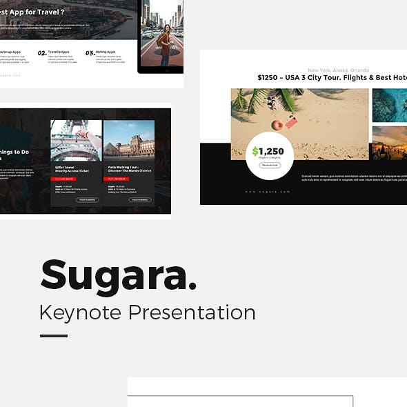 Sugara Travel Guides Keynote Template