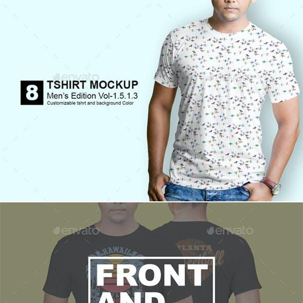Tshirt Mockup Mens Edition