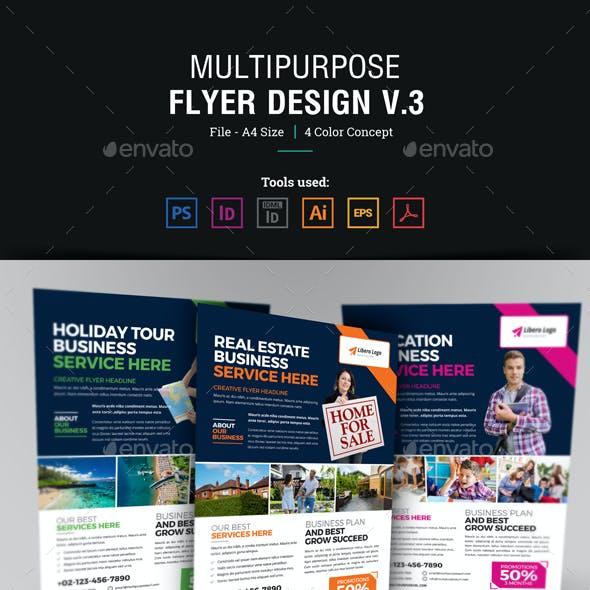Multipurpose Flyer Design Template v3