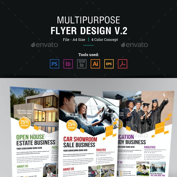Multipurpose Flyer Design Template v2