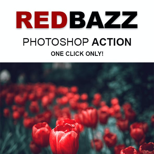 RedBazz   Special Color Grading Effects Photoshop Action for Professional Photographer