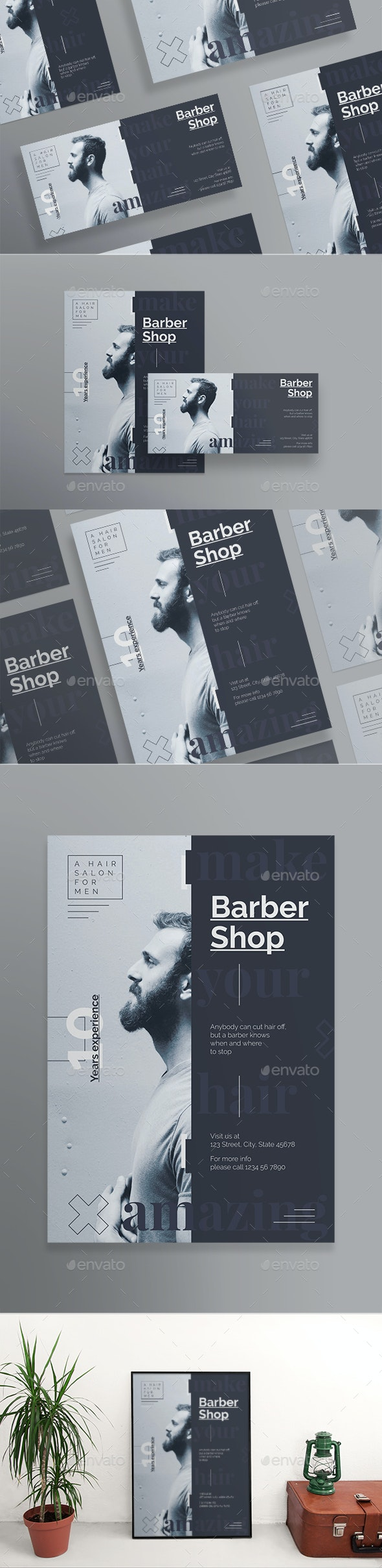 Barber Shop Flyers - Corporate Flyers