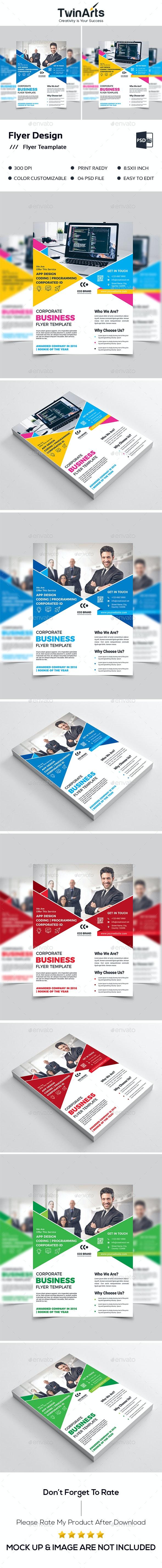 Flyer Teamplate. - Flyers Print Templates