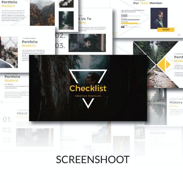 Checklist Keynote Template