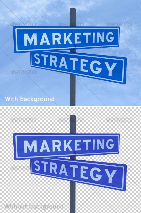 Marketing strategy - Miscellaneous 3D Renders