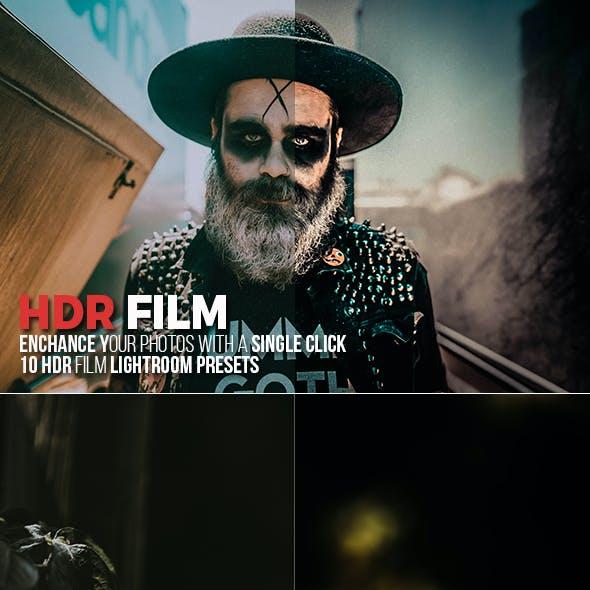 10 HDR Film Lightroom Presets