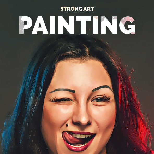 Strong Art Painting