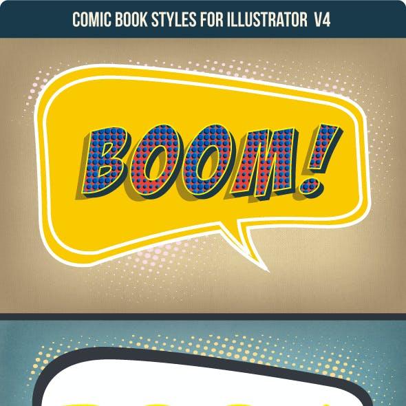 Comic Graphic Style for Illustrators