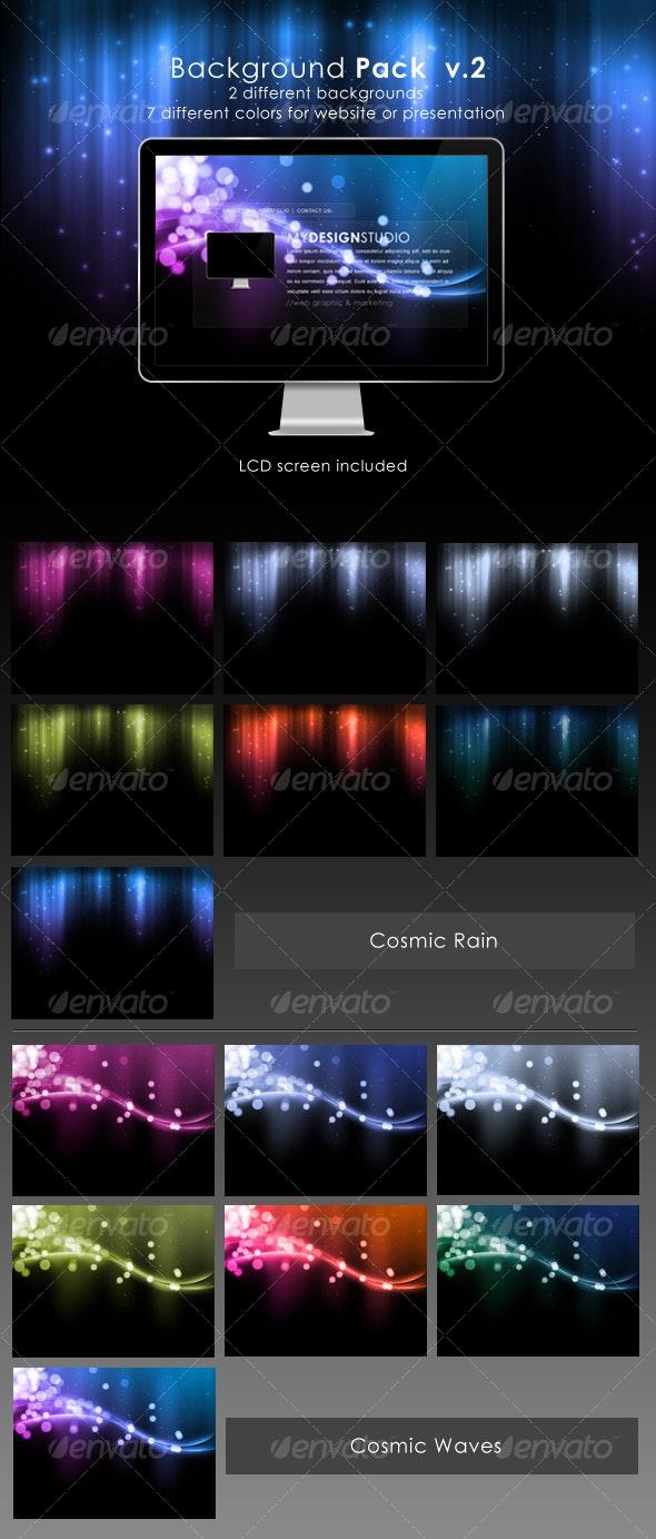 Website Background Pack V.2 - Backgrounds Graphics