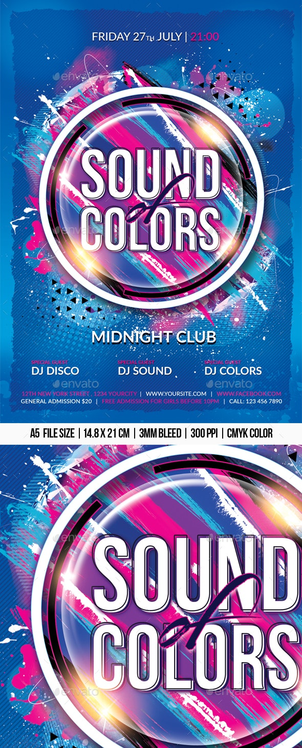 Sound of Colors - Clubs & Parties Events