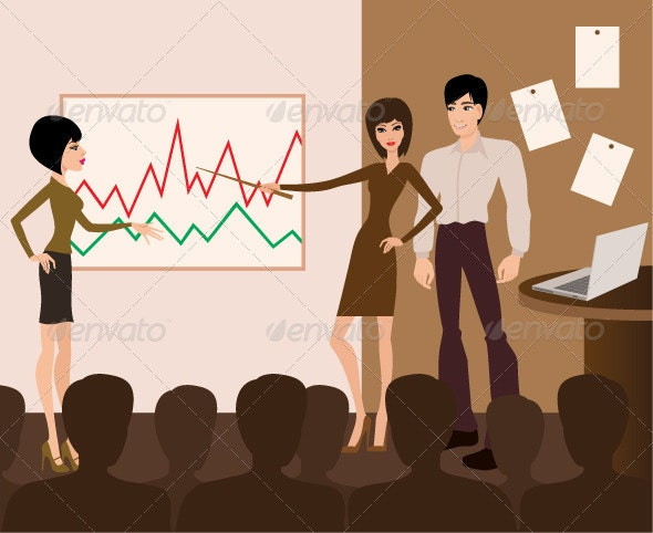 Business Meeting Presentation - Business Conceptual