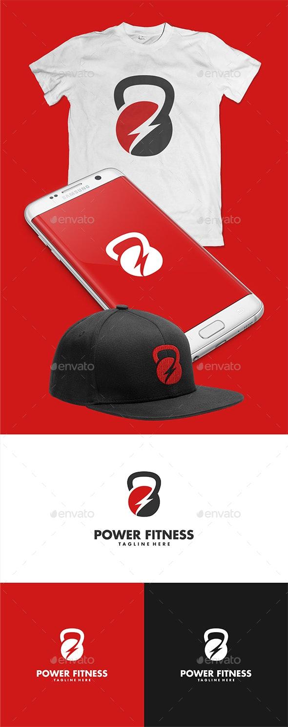 Power Fitness Logo Template - Sports Logo Templates