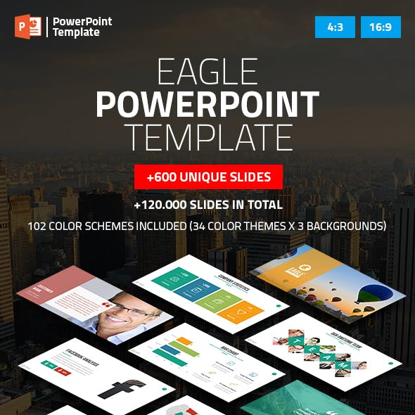 Eagle - Startup Business PowerPoint Presentation Template