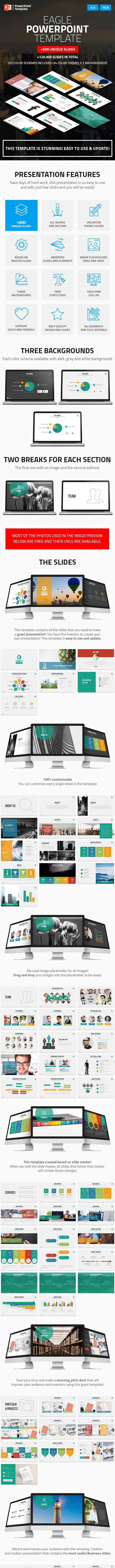 Eagle - Startup Business PowerPoint Presentation Template - Business PowerPoint Templates