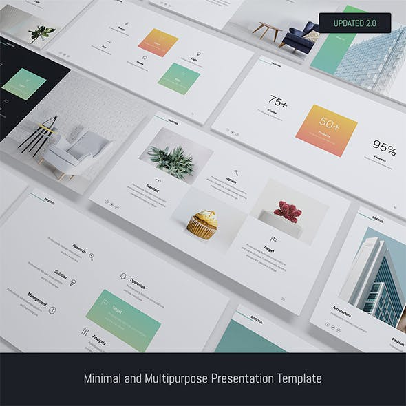 Selected - Minimal Presentation Template (Keynote)