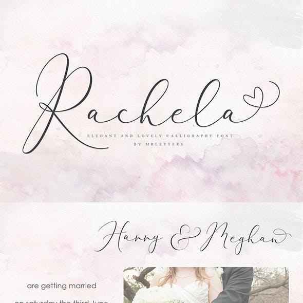 Rachela Calligraphy Font