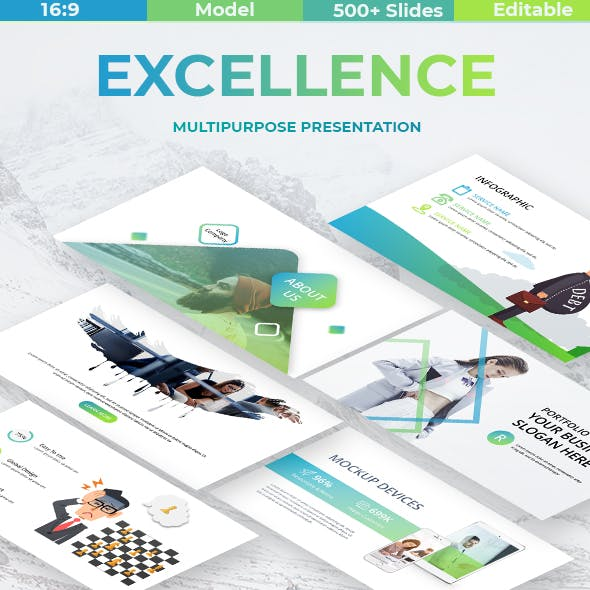 Business Excellence Powerpoint Template
