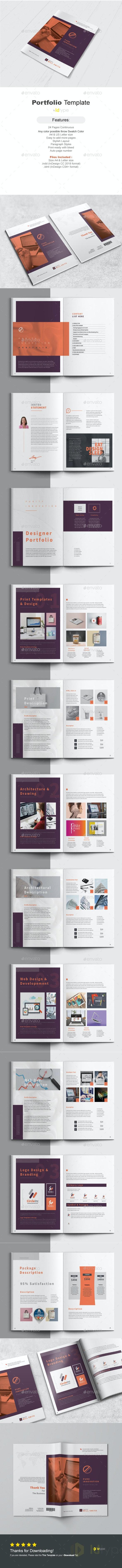 Portfolio - Magazines Print Templates