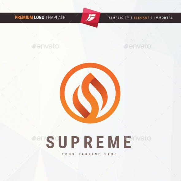 Letter S Fire Logo