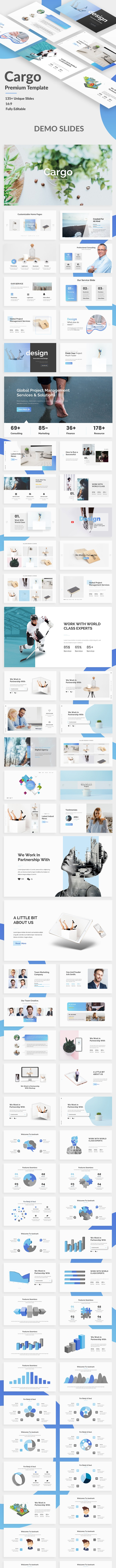 Cargo Creative Google Slide Template