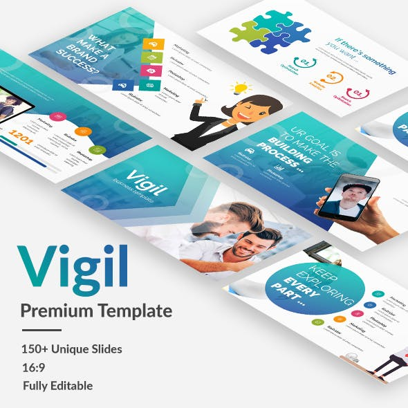 Vigil Business Premium Powerpoint Template