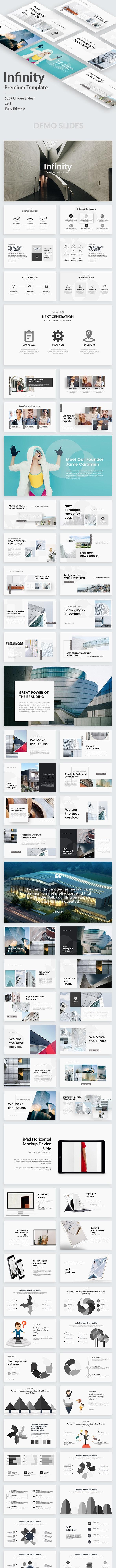 Infinity Creative Powerpoint Template - Creative PowerPoint Templates