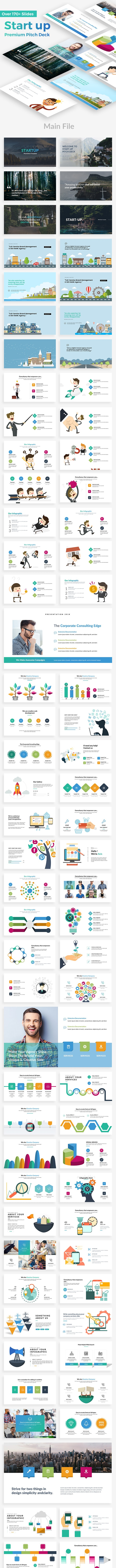 Startup Pitch Deck Powerpoint Template - Business PowerPoint Templates