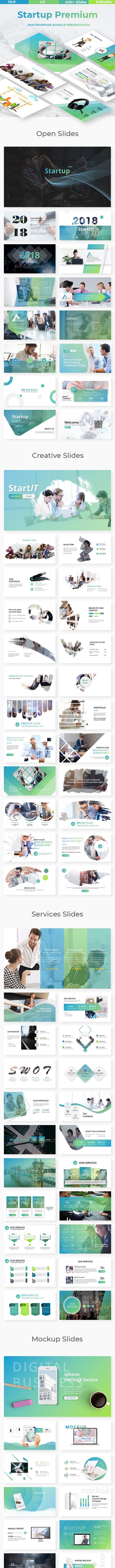 Startup Premium Powerpoint Template - Business PowerPoint Templates