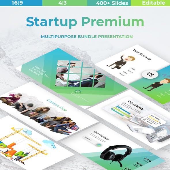 Startup Premium Powerpoint Template