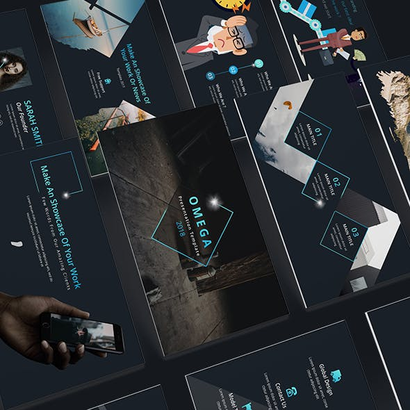 Omega Creative Keynote Template