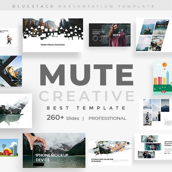 Mute Minimal Powerpoint Template