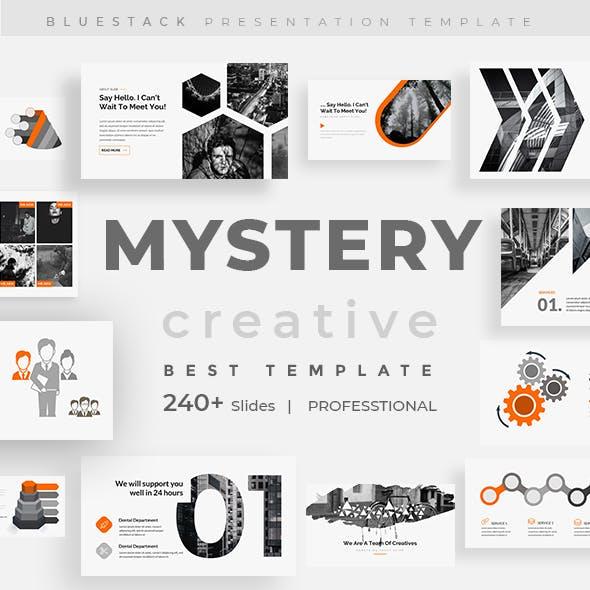 Mystery - Orange Creative Powerpoint Template