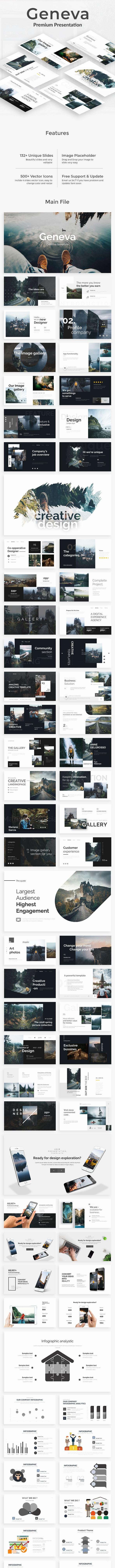 Geneva Creative Powerpoint Template - Creative PowerPoint Templates