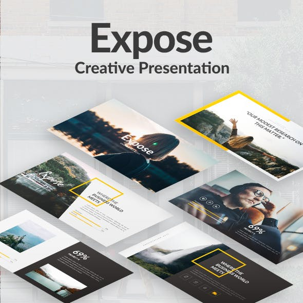 Expose Creative Powerpoint Template