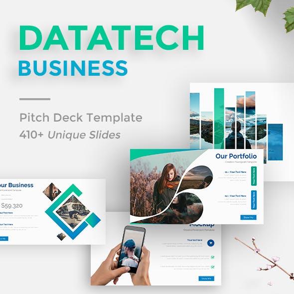 DataTech Proposal Business Powerpoint Template