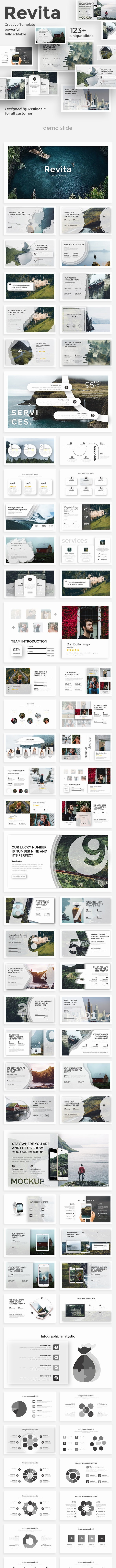 Revita Creative Design Google Slide Template - Google Slides Presentation Templates