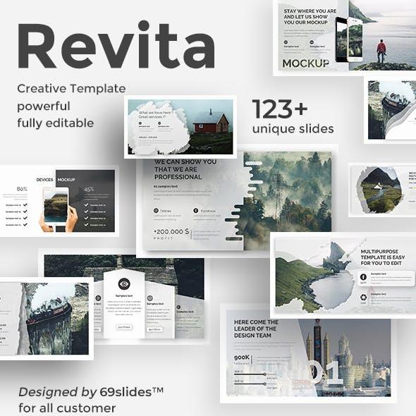 Revita Creative Design Keynote Template