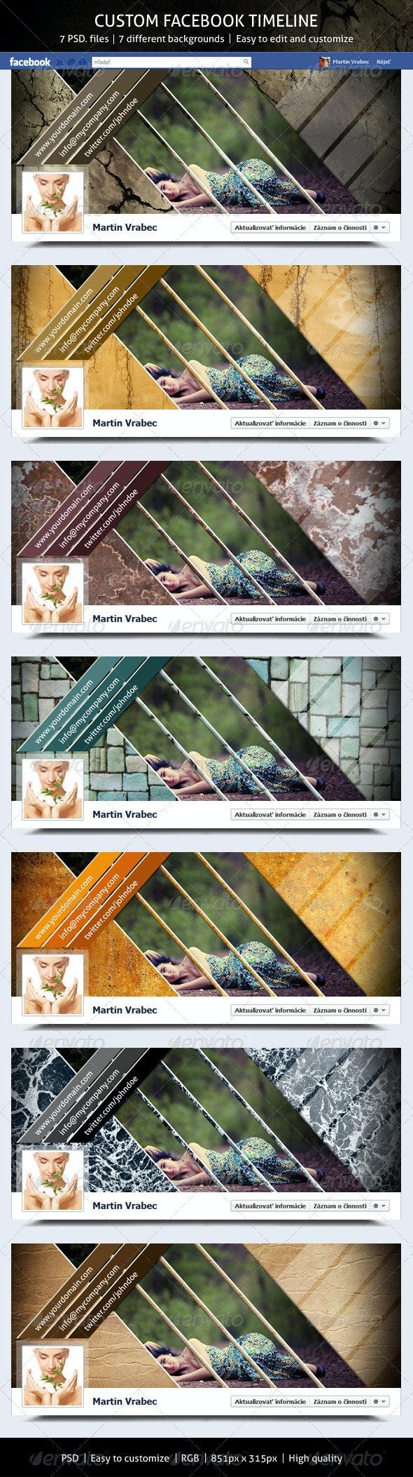 Custom Facebook Timeline - Facebook Timeline Covers Social Media