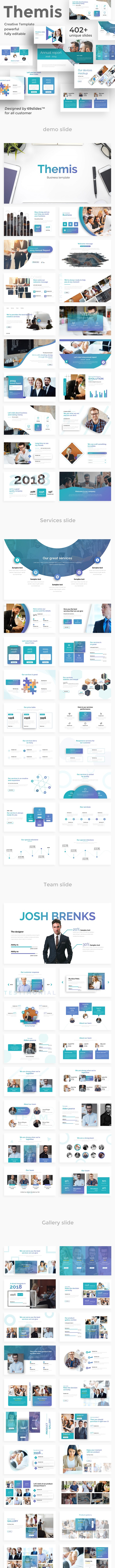 Themis Multipurpose Powerpoint Template - Business PowerPoint Templates
