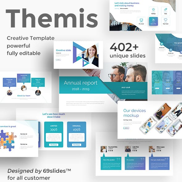 Themis Multipurpose Keynote Template